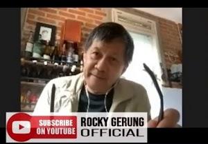 Rocky Gerung: Bohong bahwa Pemerintah ingin menyelamatkan rakyat... Faktanya pemindahan ibu kota jalan terus