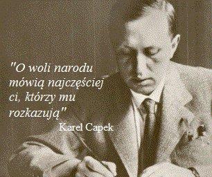 Wolnościowe Cytaty Karel Ciapek