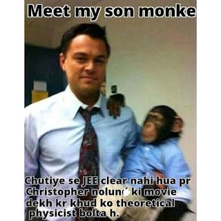 Leonardo DiCaprio Meet My Son Monkey Meme
