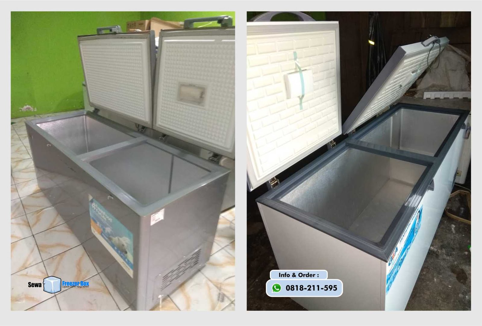 sewa freezer box 600 liter - sewafreezerbox.com