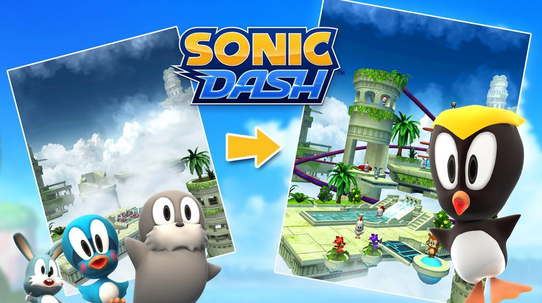 sonic dash features