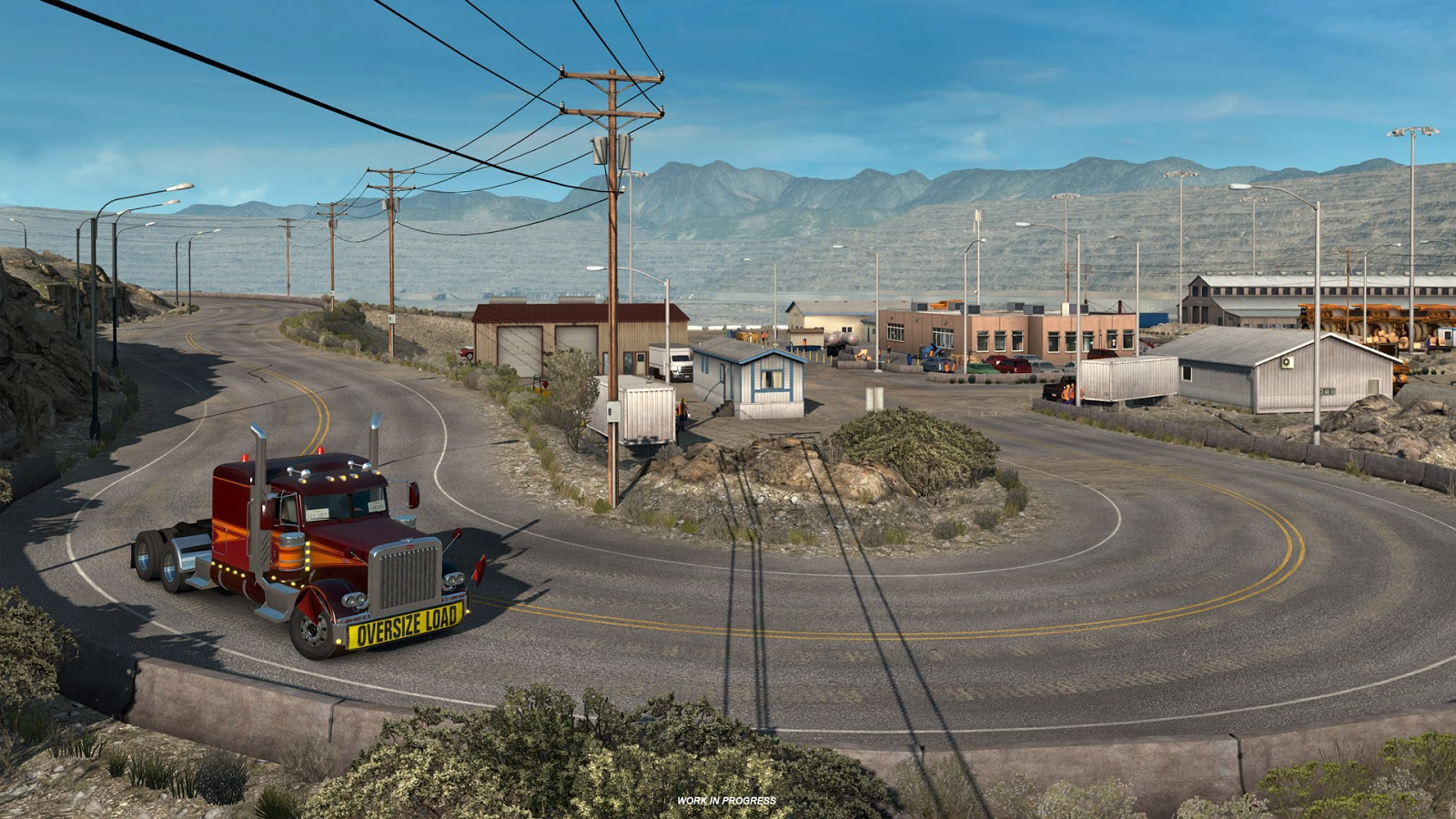 American Truck Simulator Windows, Mac, Linux game