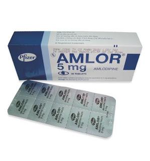 Amlor - một trong số những biệt dược nổi tiếng nhất của amlodipin