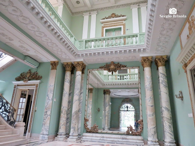 Palacete Violeta (Hall central - átrio)