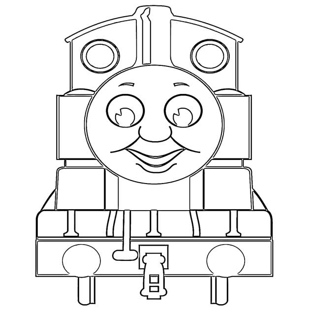The Holiday Site: Coloring Pages Of Thomas The Tank Engine Free And  Downloadable