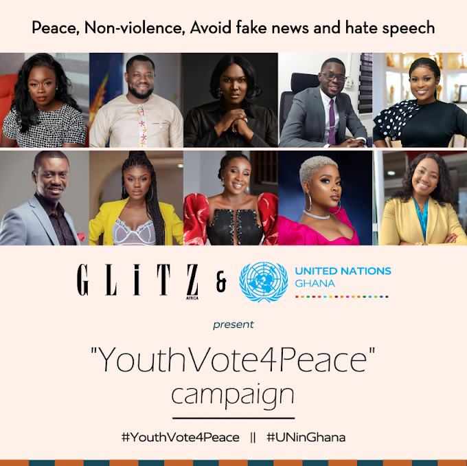 United Nations partners with Glitz Africa on #YouthVote4Peace campaign