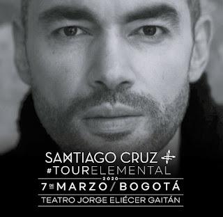 Concierto de Santiago Cruz | TOUR ELEMENTAL