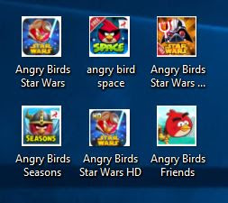 all angry birds series game
