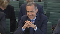 Governor of the Bank of England Mark Carney smiles as he gives evidence to members of parliament on the Treasury Committee on the July 5 Financial Stability Report, in London, Britain, in this still image taken from video July 12, 2016. (Credit: Reuters) Click to Enlarge.