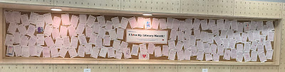 Lots of library love!