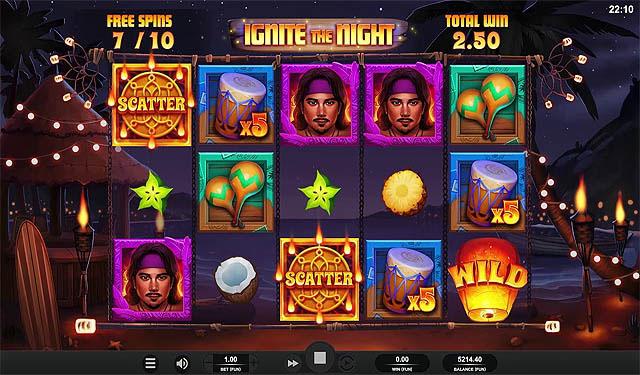 Main Gratis Slot Indonesia - Ignite The Night Relax Gaming