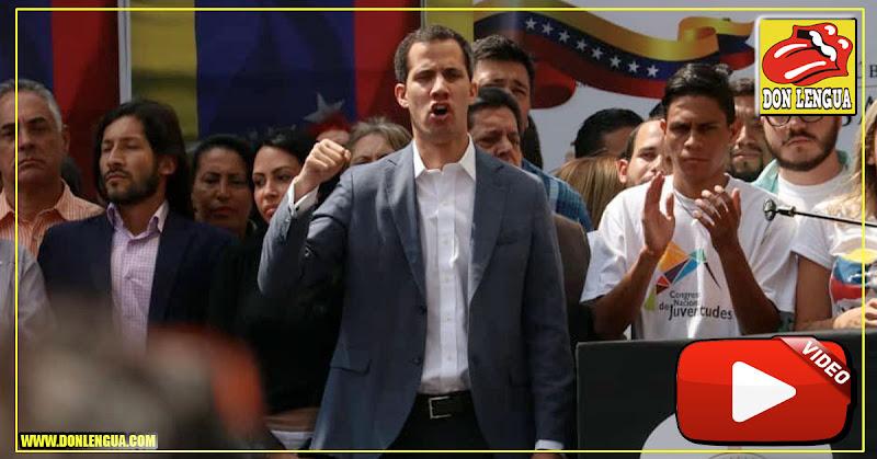 Presidente Guaidó le pide a los venezolanos que no hagan las maletas para irse