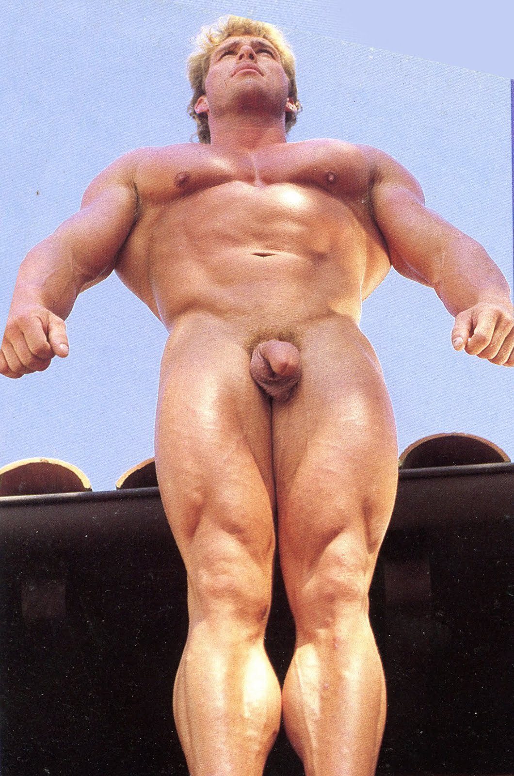 Male Naked On Stage