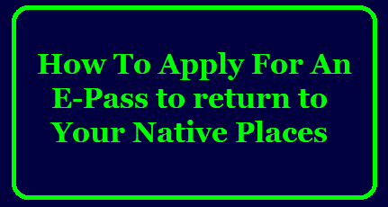 How To Apply For A Curfew E-Pass to return to your native places @ tsp.koopid.ai/epass TS police to issue e-Pass for stranded people వేరే ప్రాంతాలకు వెళ్లేవారికి ఈ–పాస్‌లుCoronavirus(Covid-19) Lockdown: How To Apply For A Curfew E-Pass Apply E-Pass to return to your native places, Telangana DGP in a tweet to stranded persons/2020/05/How-To-Apply-For-A-Curfew-E-Pass-to-return-to-your-native-places-tsp.koopid.ai-epass.html