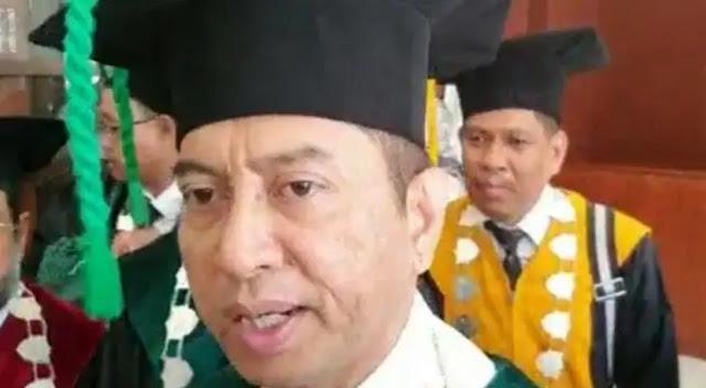 Rektor UIN Makasar Geram Temukan Spanduk Organisasi Sayap HTI Sambut Maba
