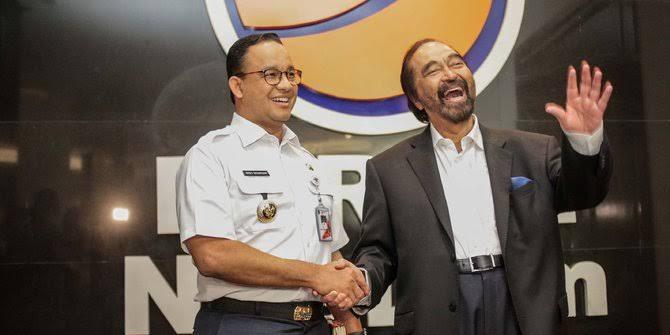 Surya Paloh Bantah Dukung Anies Nyapres 2024