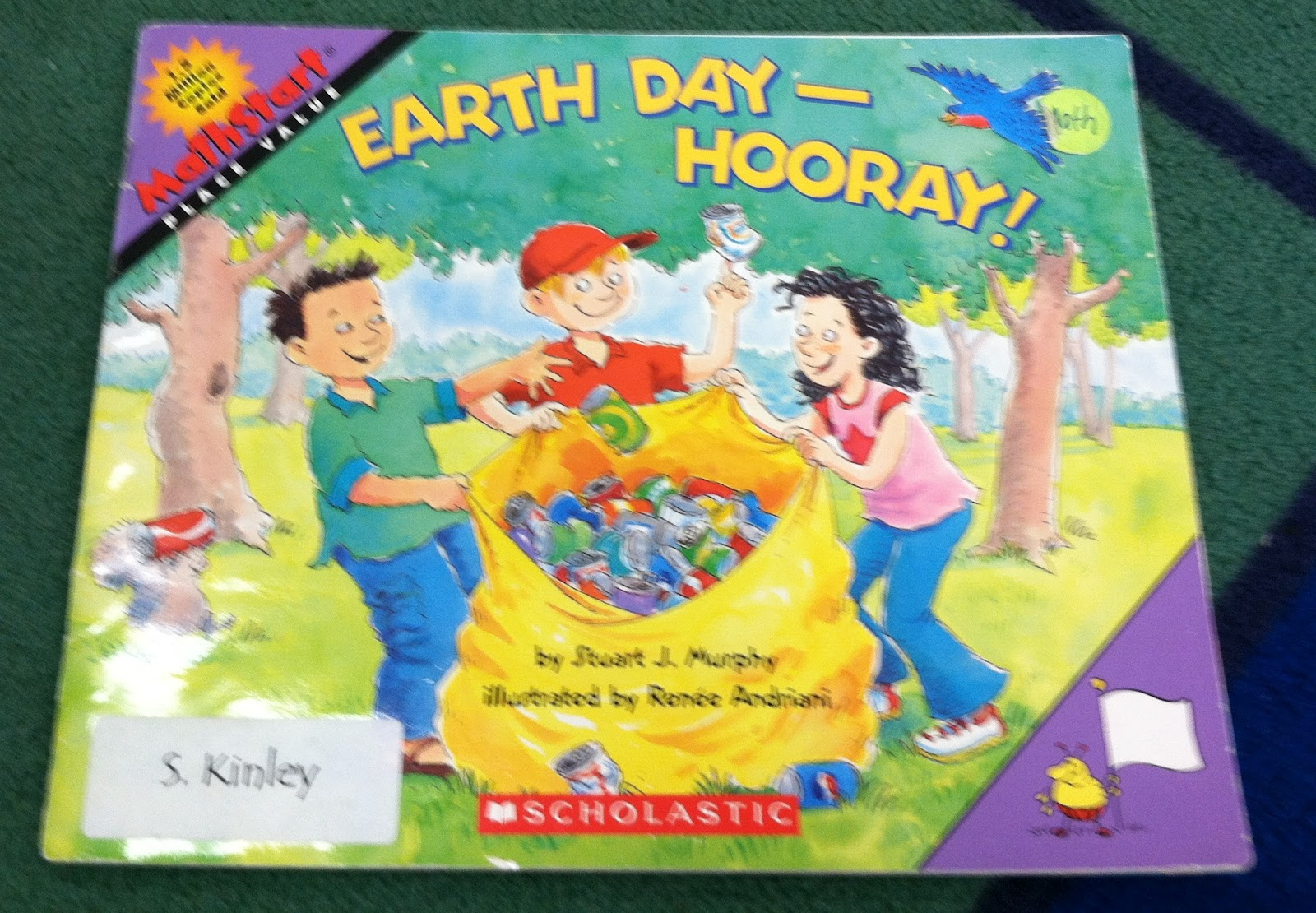First Grade Fabulous Fish Earth Day Hurray