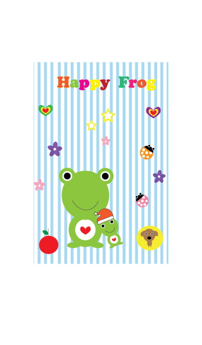 Happy frog theme