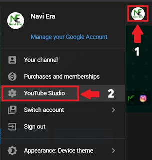 How to see the live Subscribers count in Youtube Studio?