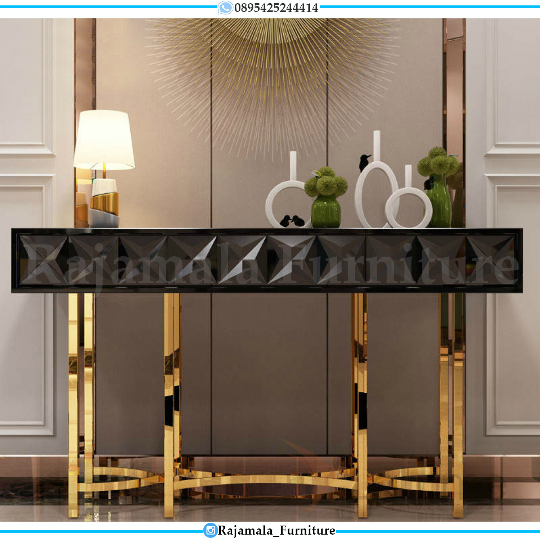 New Meja Konsul Minimalis Mewah Elegant Style Living Room RM-0286