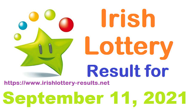 Irish lottery results for September 11, 2021