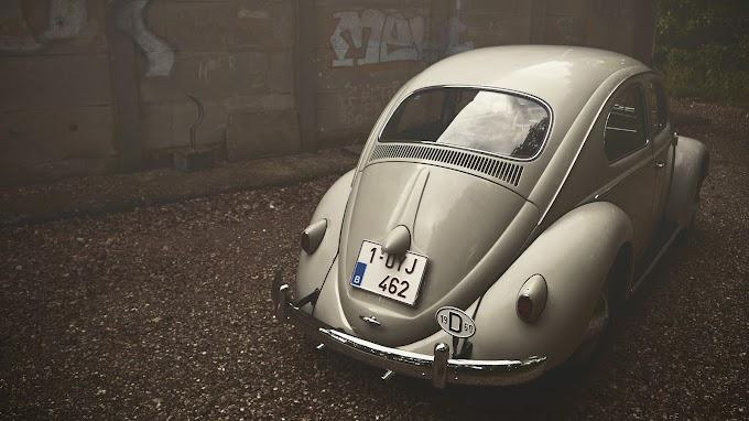Vintage Carro Fusca