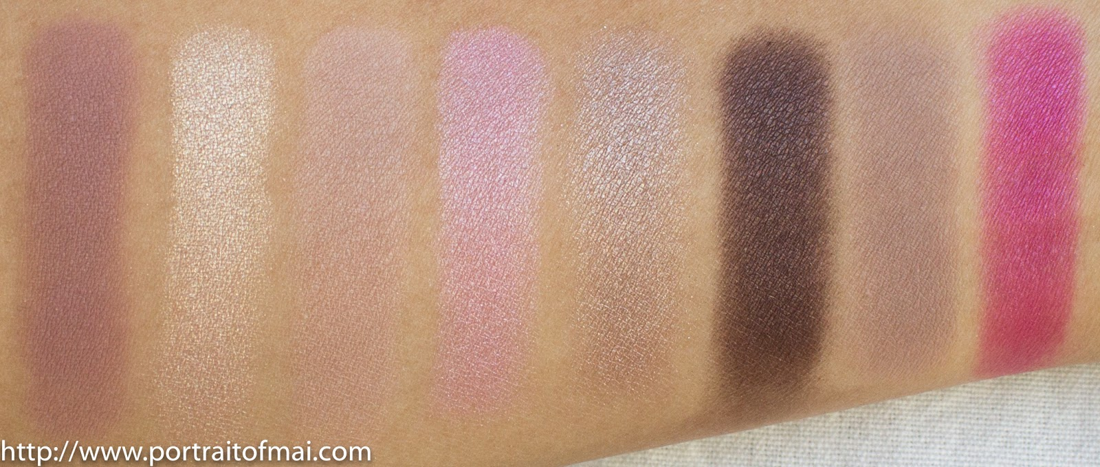 Too Faced Chocolate Bon Bons Palette Swatches