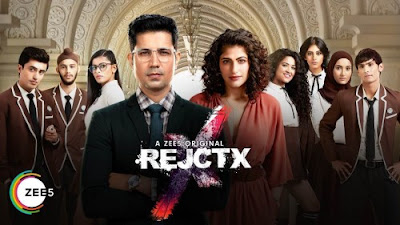 Poster Of RejctX Season 01 2019 Watch Online Free Download