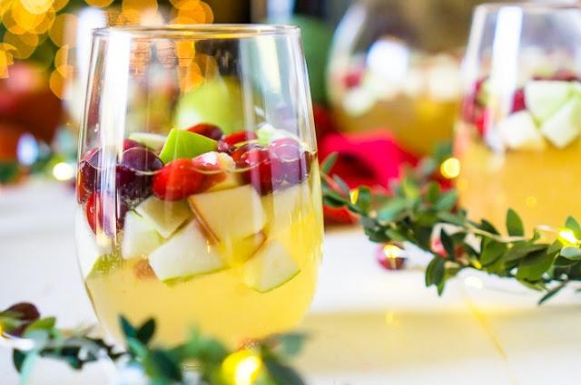 Christmas Sangria #drinks #alcohol