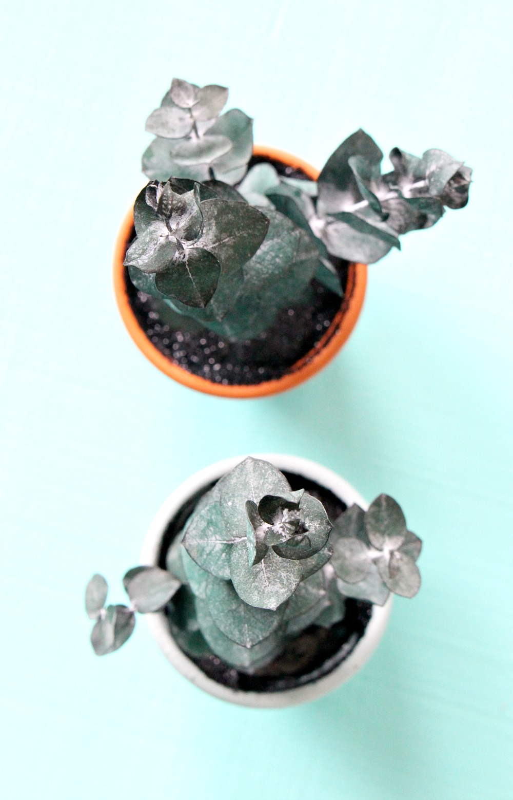 DIY Mini Potted Plant Holiday Ornament