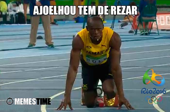 Memes Time Usain Bolt & Jady Duarte – Ajoelhou tem de rezar