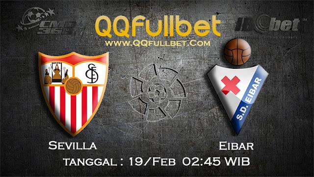 PREDIKSIBOLA - PREDIKSI TARUHAN SEVILLA VS EIBAR 19 FEBRUARY 2017 (LA LIGA SPANYOL)
