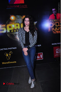 Actress Mannara Chopra Stills in Jeans at Sparx 2017 Curtain Raiser Event  0192.JPG