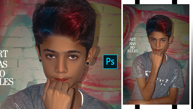 How To Edit photos Like A Professional Indoor Editing Photoshop | Stylish Hair Color In Photoshop CC