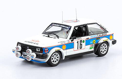 collezione rally monte carlo Talbot Sunbeam Lotus 1981 G. Frequelin - J. Todt