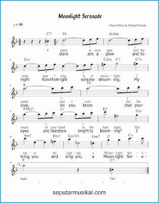 moonlight serenade 1 lagu jazz standar