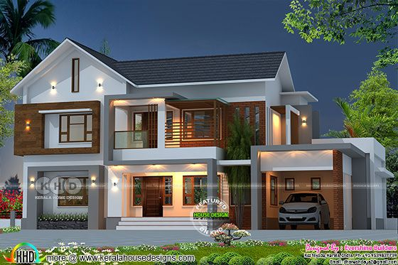 Beautiful modern 4 bedroom house architecture