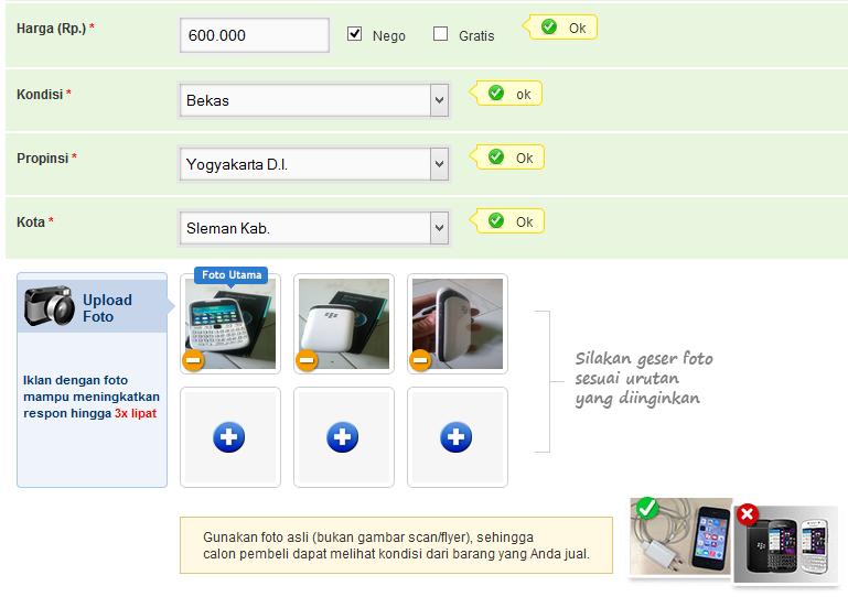 Panduan Cara Menjual Handphone di OLX.co.id