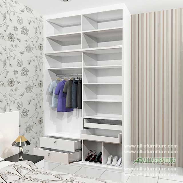 dalam lemari baju minimalis model city