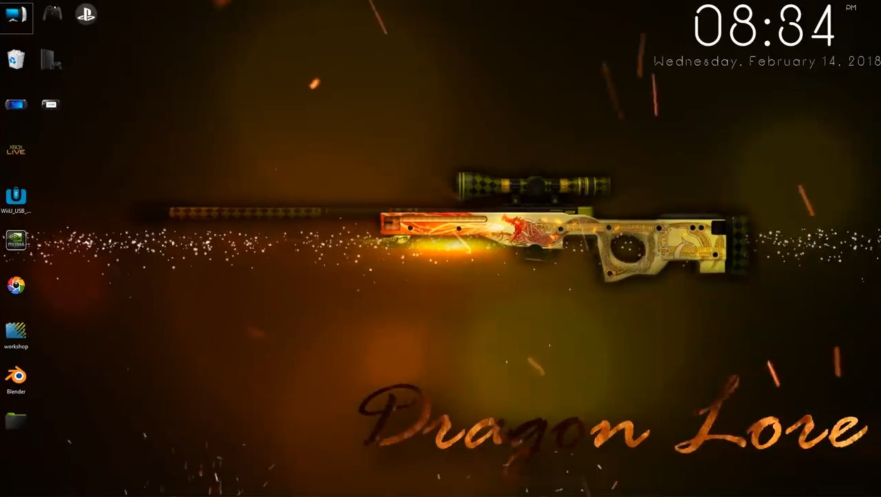 wallpaper engine sniper AWP Dragon Lore free download