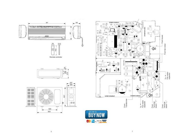 sharp air conditioner ay-ae-a126j service manual ... sharp air conditioner wiring diagram bard air conditioner wiring diagram