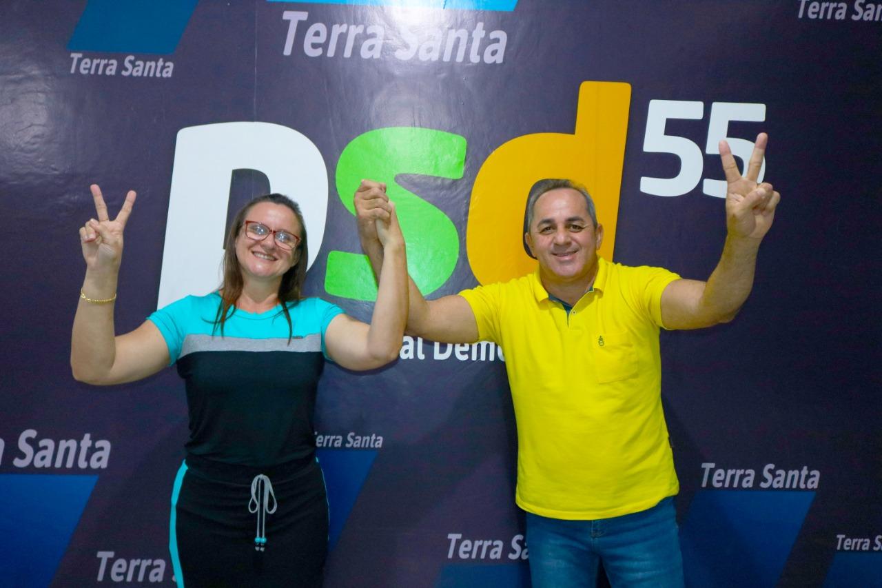 Terra Santa repete 2016 e terá 3 candidatos na disputa para prefeito