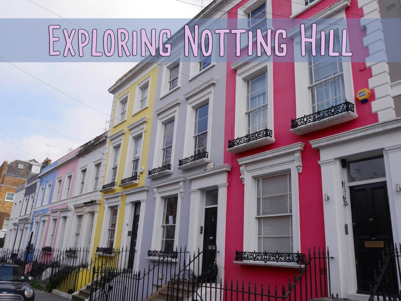My notting hill blog -  The Houses In Notting Hill Colourful Neat And Delightful There Was One Particular Pastel Pink House That Would Definitely Be My Dream Future Home