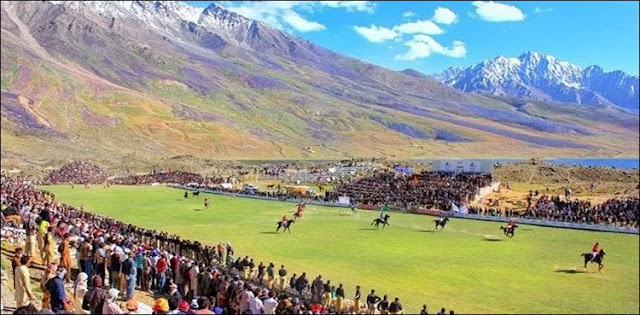 Shindur Festival began in the world's highest polo ground