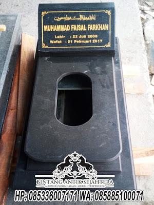 Contoh Kuburan Bayi, Kijing Bayi Granit,  Harga Kijing Bayi Tulungagung