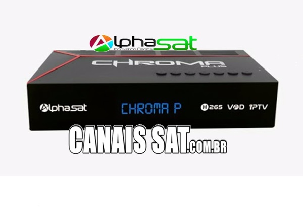 Alphasat Chroma Plus Nova Atualização V12.06.27.S75 - 26/06/2020