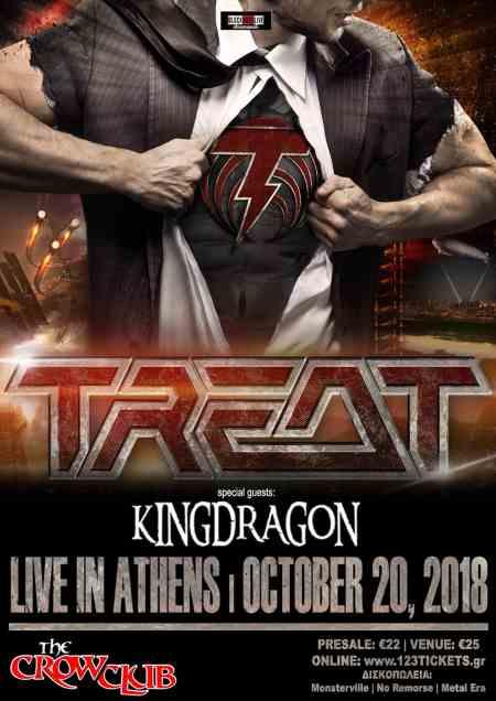 TREAT: Σάββατο 20 Οκτωβρίου @ The Crow Club w/ Kingdragon