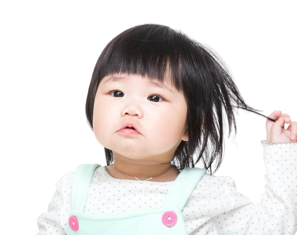 Cara Melebatkan Rambut Bayi Dengan Sehat