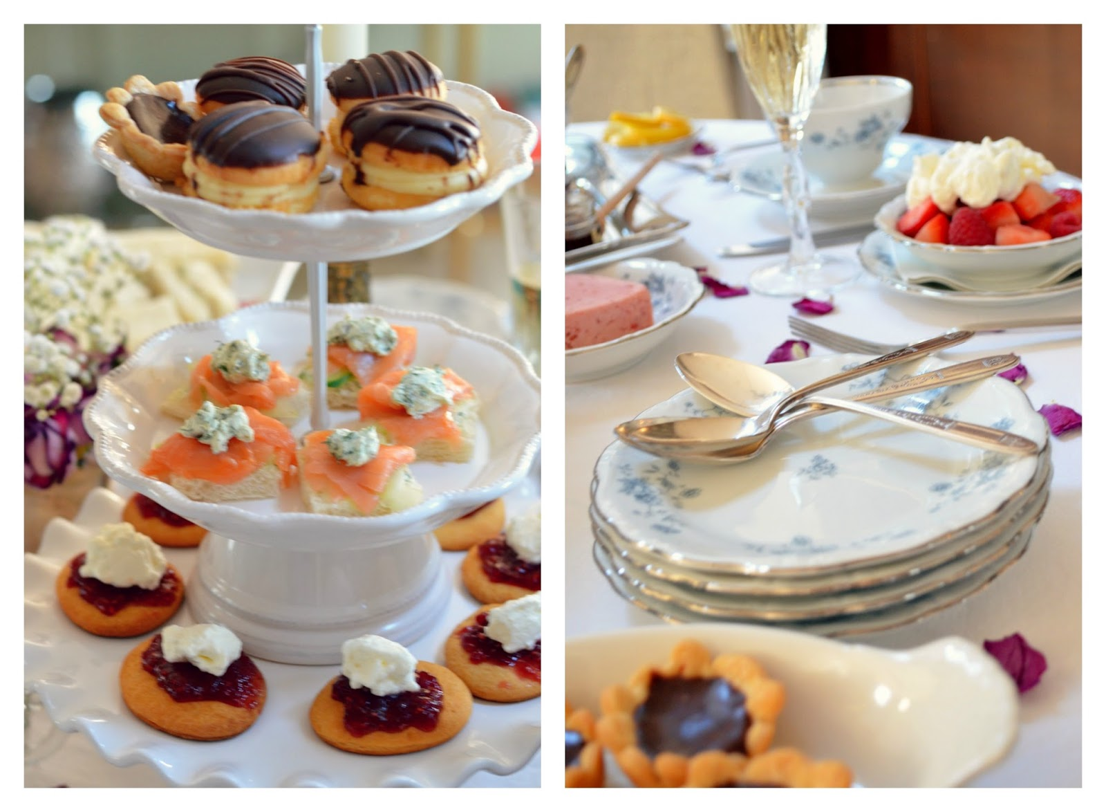 3 Simple How-To Tips for Hosting A Veuve Clicquot Champagne Afternoon High Tea