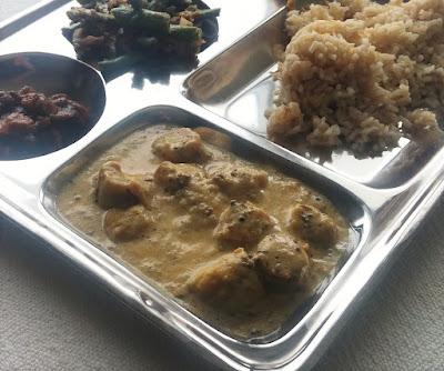 Gatta Curry; Chick Pea Dumplings in Sauce